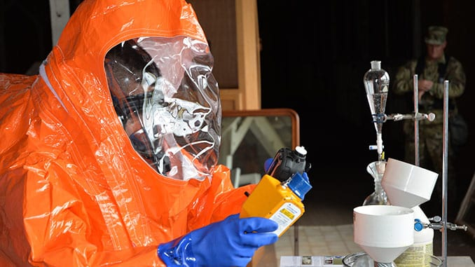 42nd WMD Civil Support Team Investigates Suspicious Laboratory