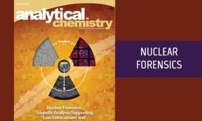 Nuclear Forensics Cover of Analytical Chemistry