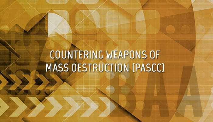 Project on Advanced Systems and Concepts for Countering Weapons of Mass Destruction