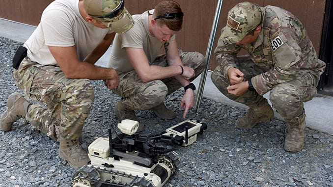 EOD Robotics Training
