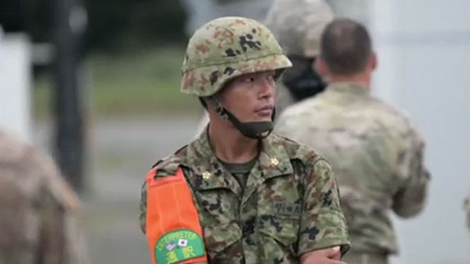 Joint U.S. and Japan CBRN Training Exercise