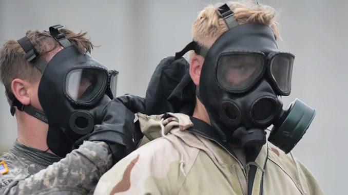 Check Your Buddy for Proper CBRN Mask Donning