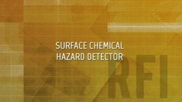 Surface Chemical Hazard Detector