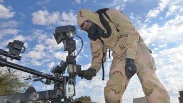 CBRN AWA - Talon Robot Operations