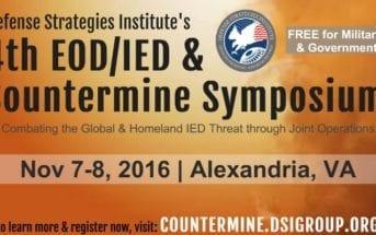 4th EOD/IED & Countermine Symposium