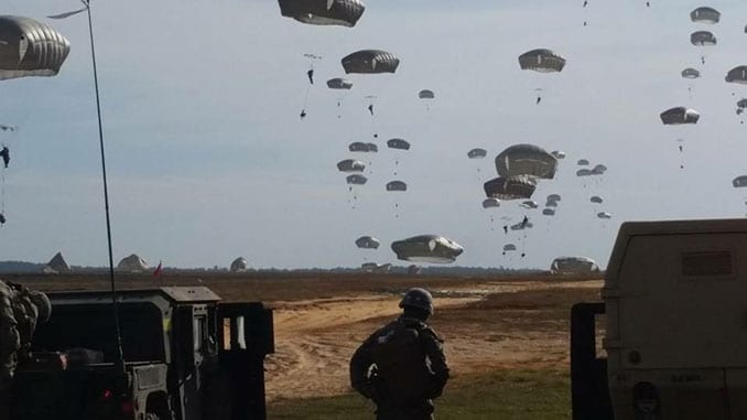 767th Ordnance Company Airborne Jump