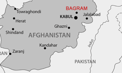 Bagram Airfield Afghanistan Map