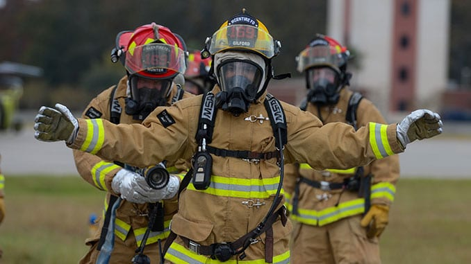 Fire Response Team During a Counter CBRN All-Hazard Management Response (CAMR)