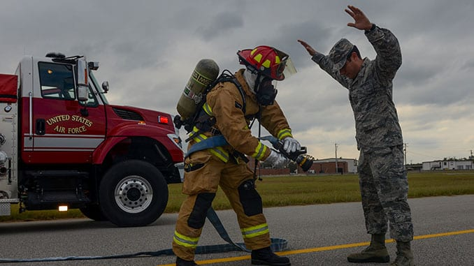 CAMR All Hazards Response Exercise USAF