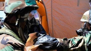 Nevada Air National Guard CBRN Exercise