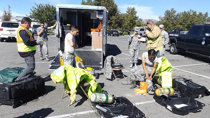 Nevada Guard CBRN Training