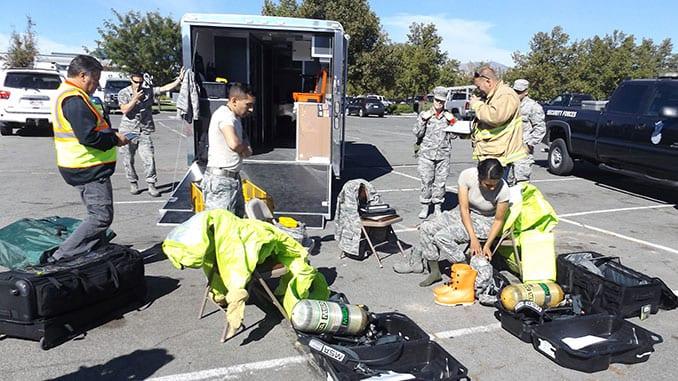 Nevada Guard CBRN Training