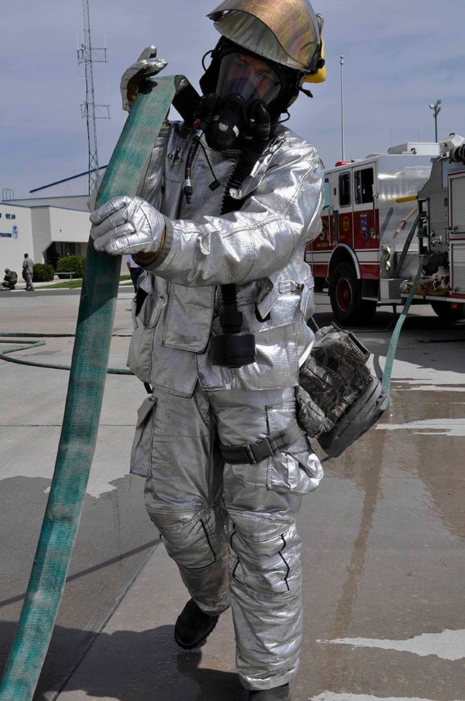 NVANG Firefighter Chemical Incident Response