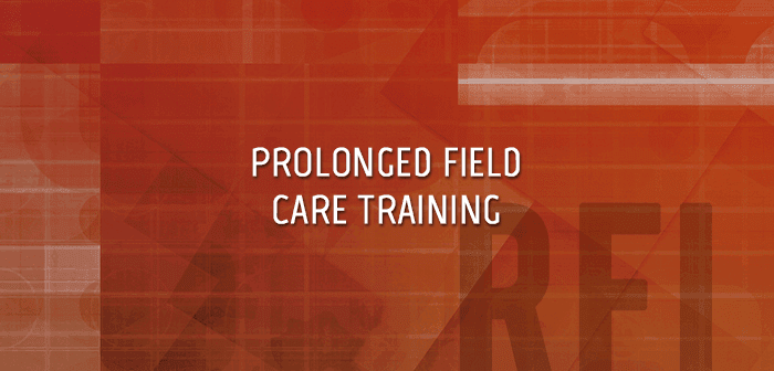 Prolonged Field Care Training & Simulations