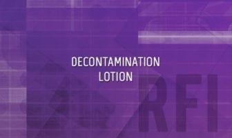 RSDL Decontamination Lotion RFI