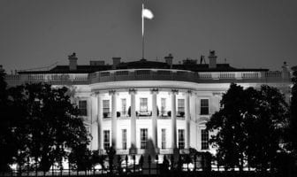 White House at Night - West Wing