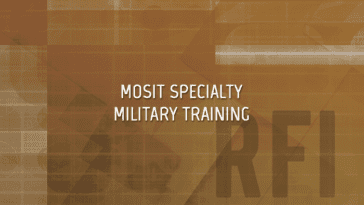 MOSIT Army Specialty Training RFI
