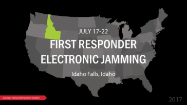 2017 First Responder Electronic Jamming Exercise