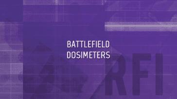 Naval Battlefield Dosimeters