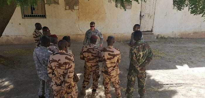 C-IED Training in Chad