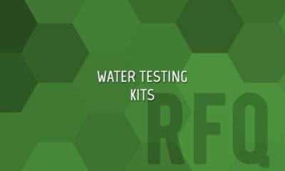 Chemical Agent Water Testing