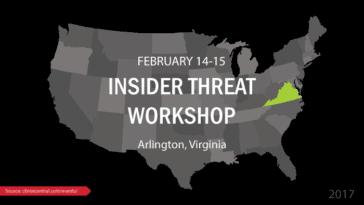 Insider Threat Workshop