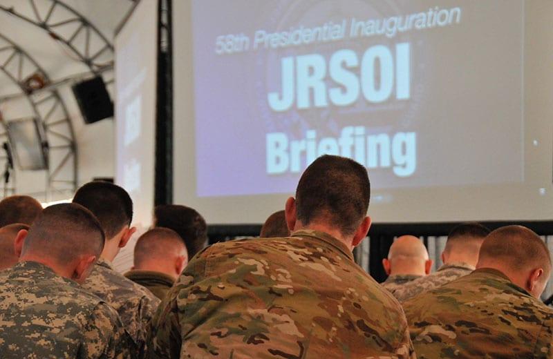58th Presidential Inauguration JRSOI Briefing