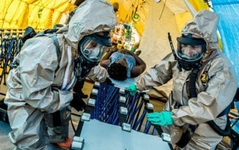 NYPD COBRA and 222 Chemical Co. Joint CBRN Training