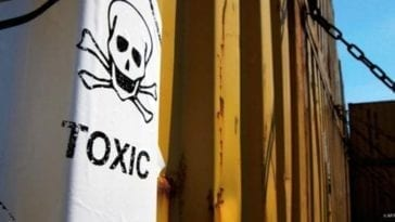 Shipping Containers Full of Chemical Weapons