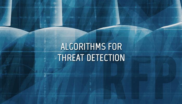 Algorithms for Threat Detection
