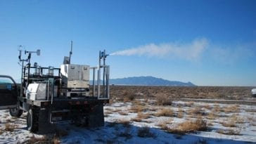 Chem-Bio Simulant Testing at Dugway