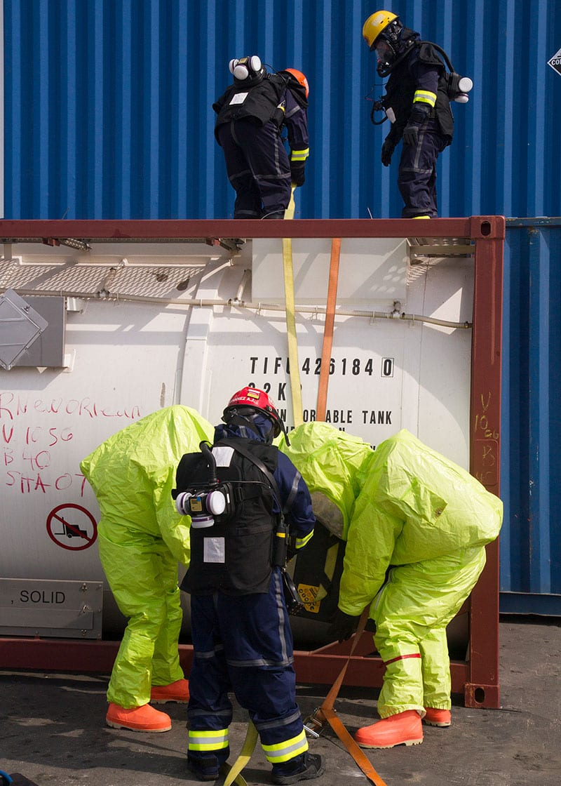 Joint Military-Civilian CBRN Exercise - Port of Miami