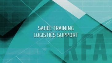 Sahel Training Logistics Support