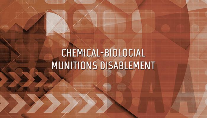Chem-Bio Munitions JSTO