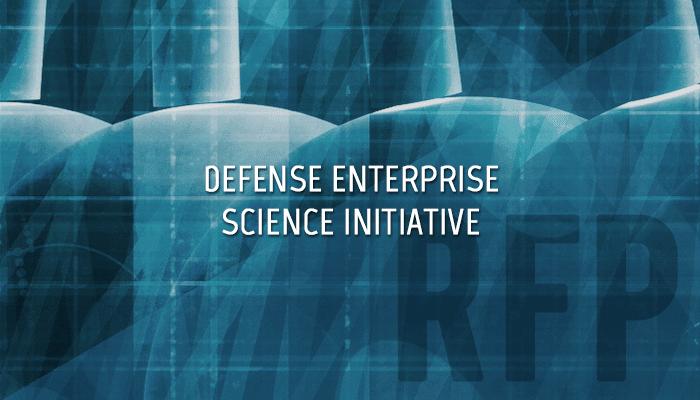 Defense Enterprise Science Initiative