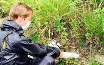 Fukushima - Monitoring microparticles of fallout debris