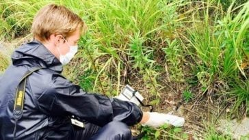 Fukushima - Monitoring microparticles of fallout debris