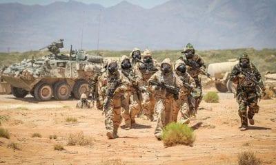 1st Stryker Brigade CBRN Decontamination Ops