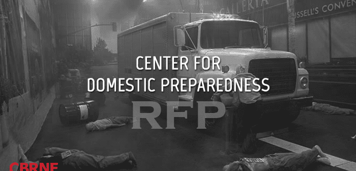 Center for Domestic Preparedness RFP