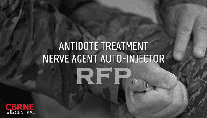 Antidote Treatment Nerve Agent Auto Injectors
