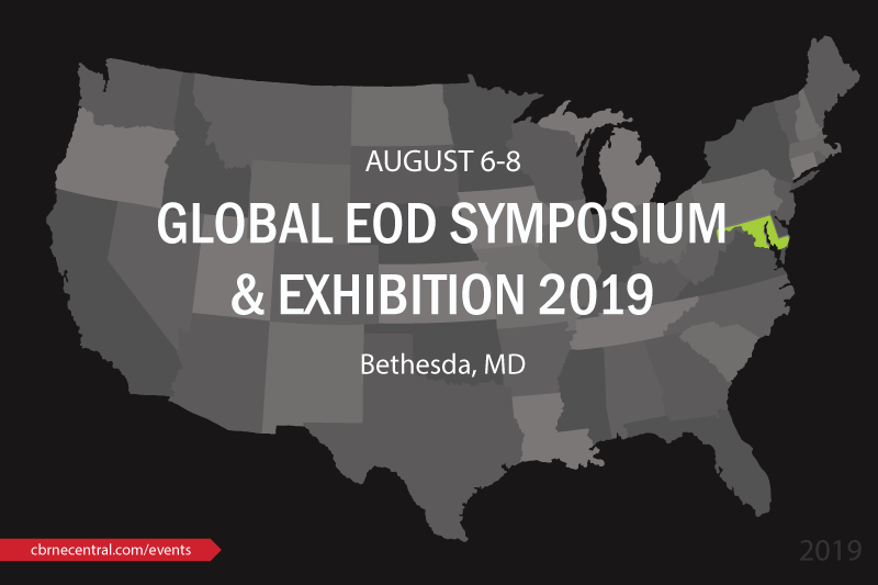 2019 Global Explosive Ordnance Disposal (EOD) Symposium
