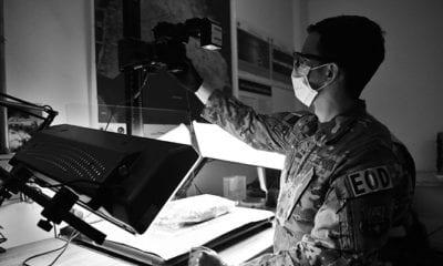EOD Airman provides critical skillset to Army forensics team