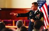 Command Sgt. Maj. Kenneth Graham, the senior enlisted advisor for the 20th Chemical, Biological, Radiological, Nuclear, Explosives (CBRNE) Command