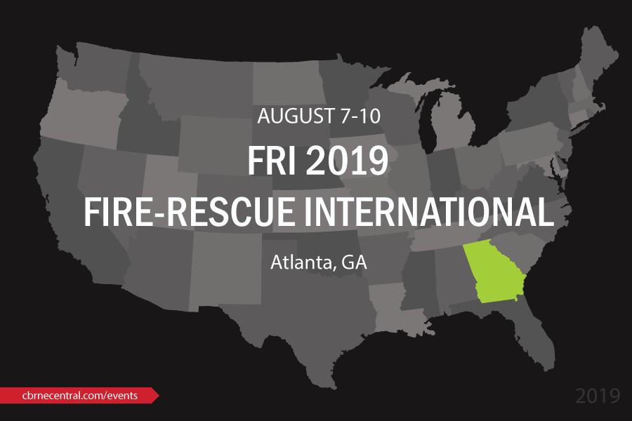 FRI 2019 Fire Rescue International