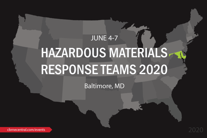 International Hazardous Materials Response Teams Conference 2020