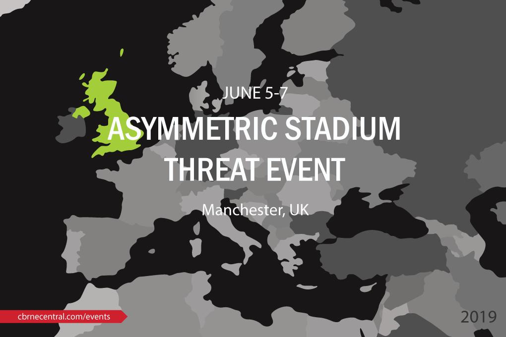 Asymmetric Stadium Threat Event - CBRNe Manchester
