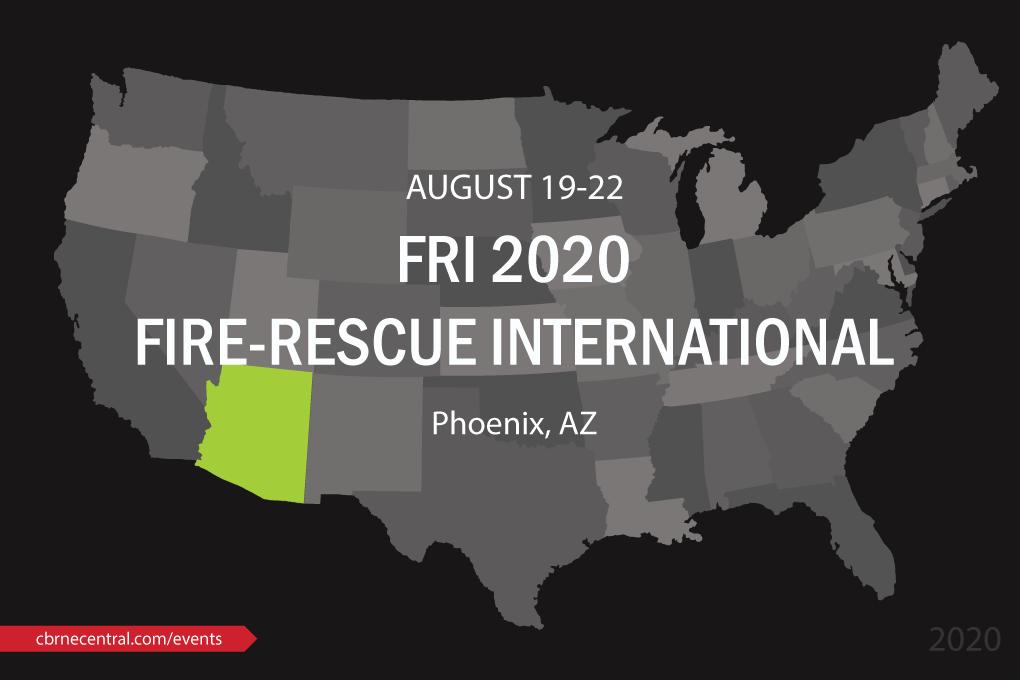 FRI 2020 Fire-Rescue International