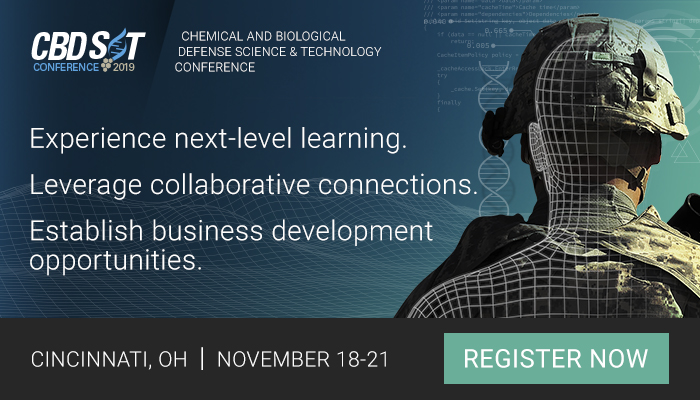 Chem Bio Defense Science and Technology Conference - Attend to leverage connections, establish business development opportunities