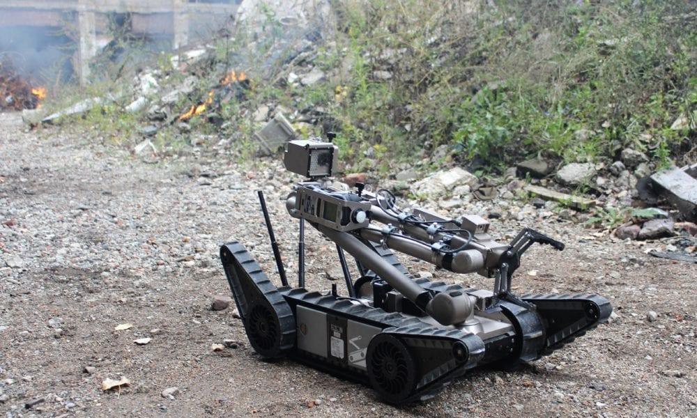 Rugged small ground robot