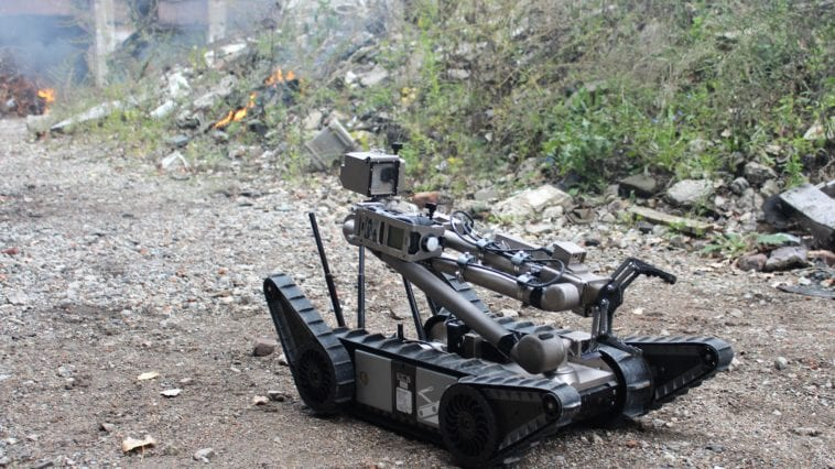 Rugged small ground robot